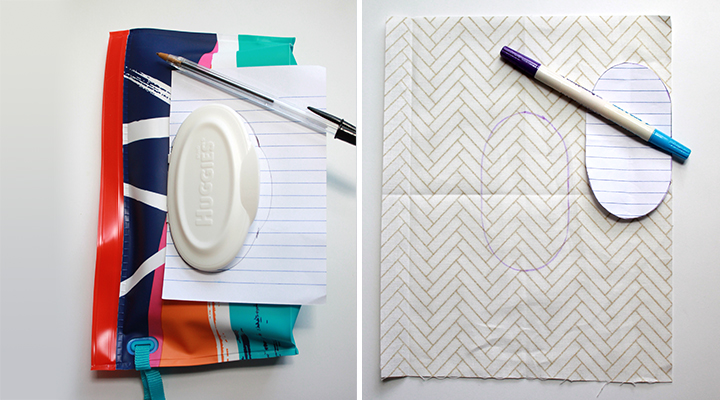 TUTORIAL: On-the-Go Changing Pad & Diaper Caddy | The Inspired Wren