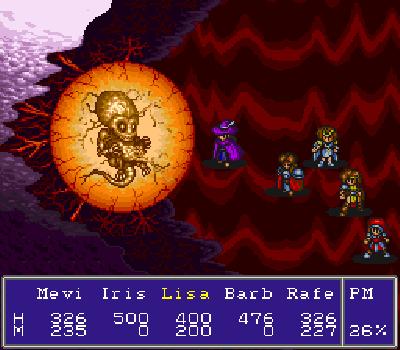 Nekketsu Tairiku: Burning Heroes - Final Boss Deathwise
