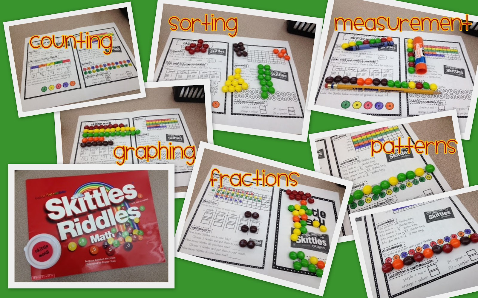 Lory S 2nd Grade Skills Skittle Math Amp Mike And Ike Math