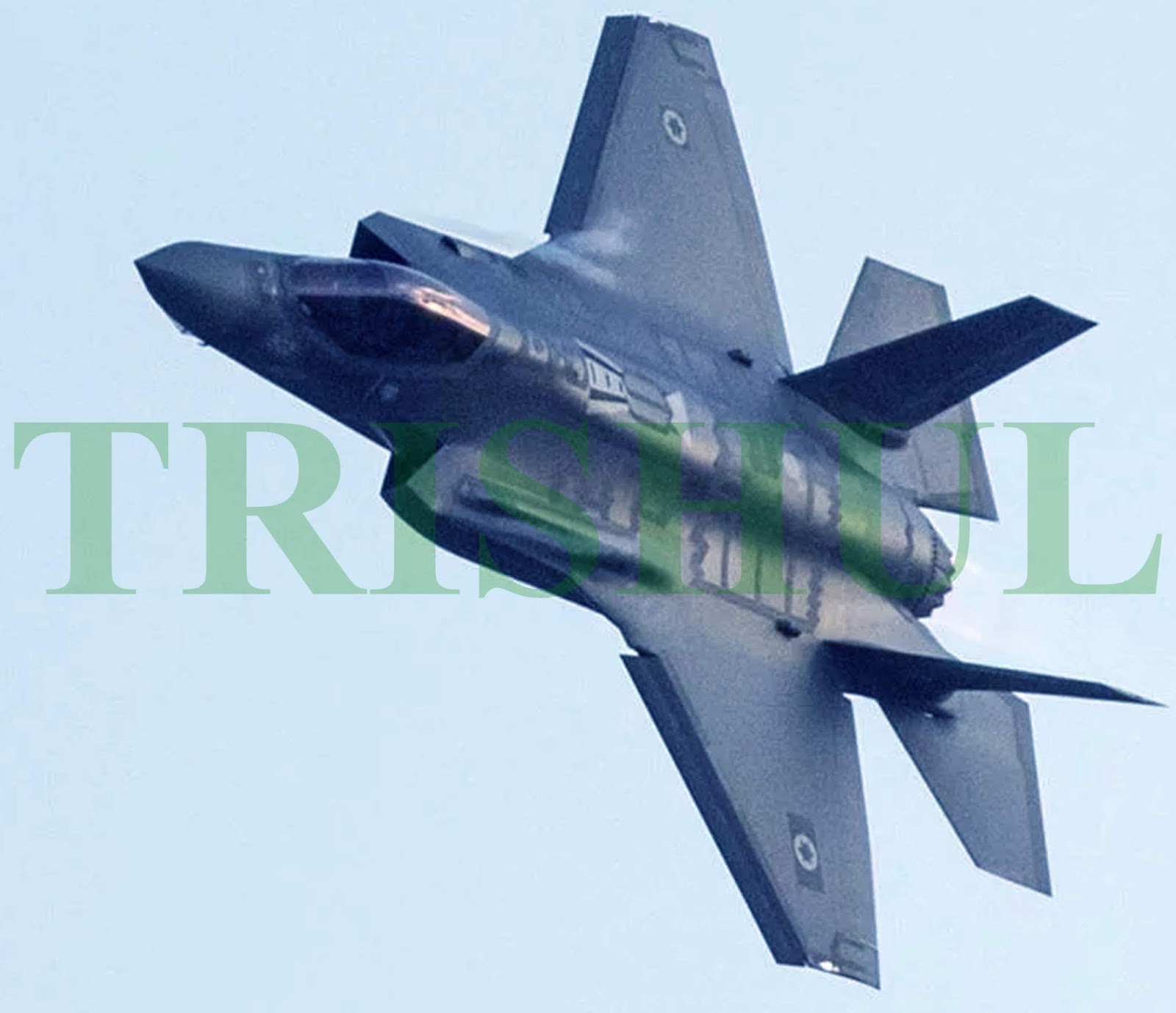 TRISHUL: IDF-AF Becomes World's First Air Force To Employ F