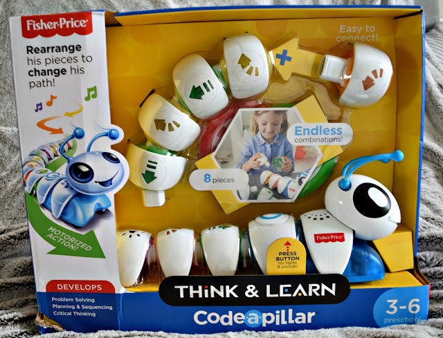 Fisher Price Code-a-pillar | A Review