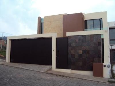 fachada contemporanea residencia casas