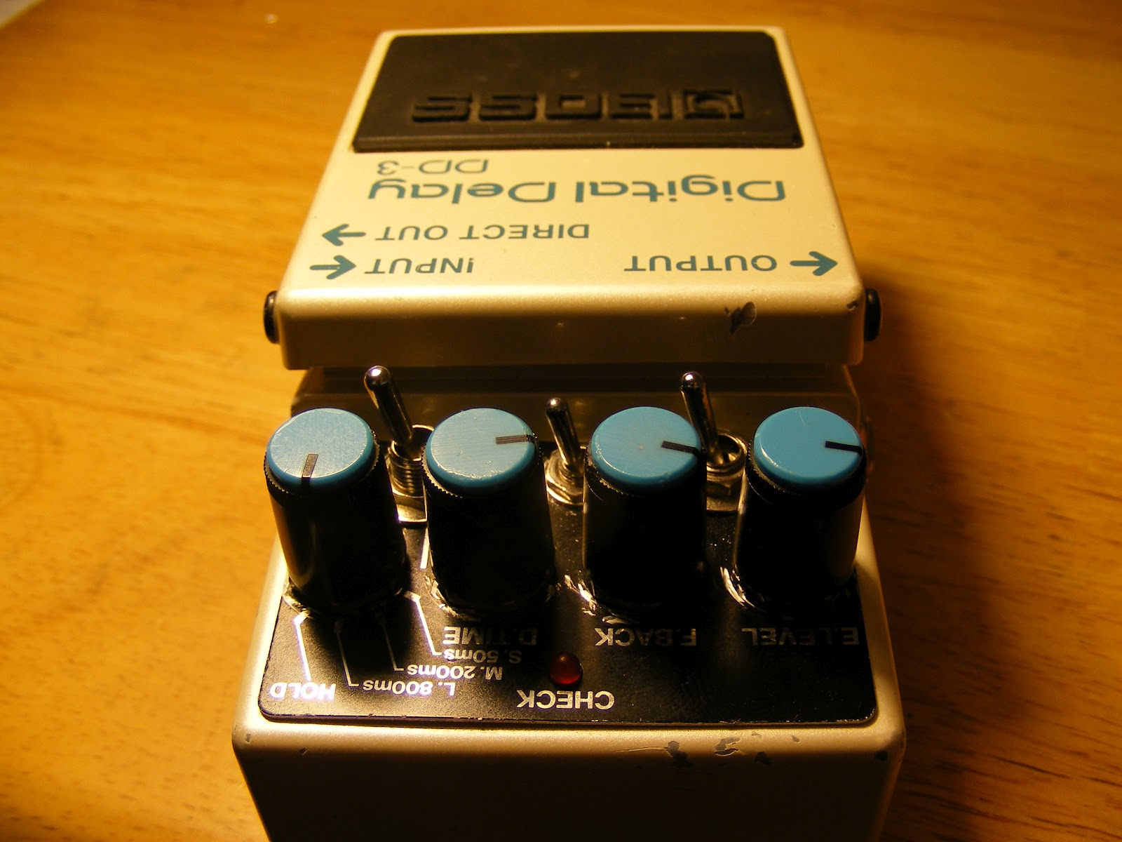 Boss DD-3 Digital Delay Alchemy Audio Mod Service Only No Pedal Included
