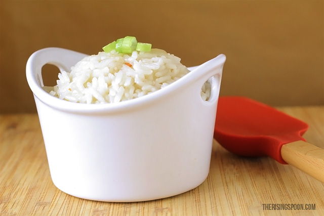 Easy Coconut Rice Recipe with Coconut Milk