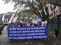 Tegas! Bumi Arema Deklarasi Menolak Paham dan Gerakan Radikalisme, Separatisme dan Terorisme