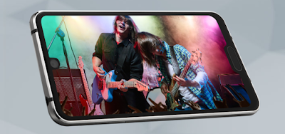 Sharp Launches The First Phone With Dual Notch On Screen 2