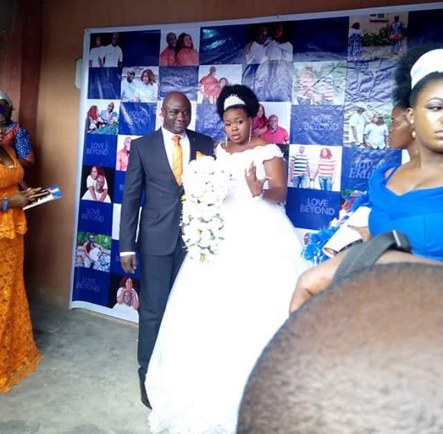 """""""That man is my husband""""- British woman claims she is the legal wife of Nigerian man who got married to another woman in Akwa Ibom yesterday"""