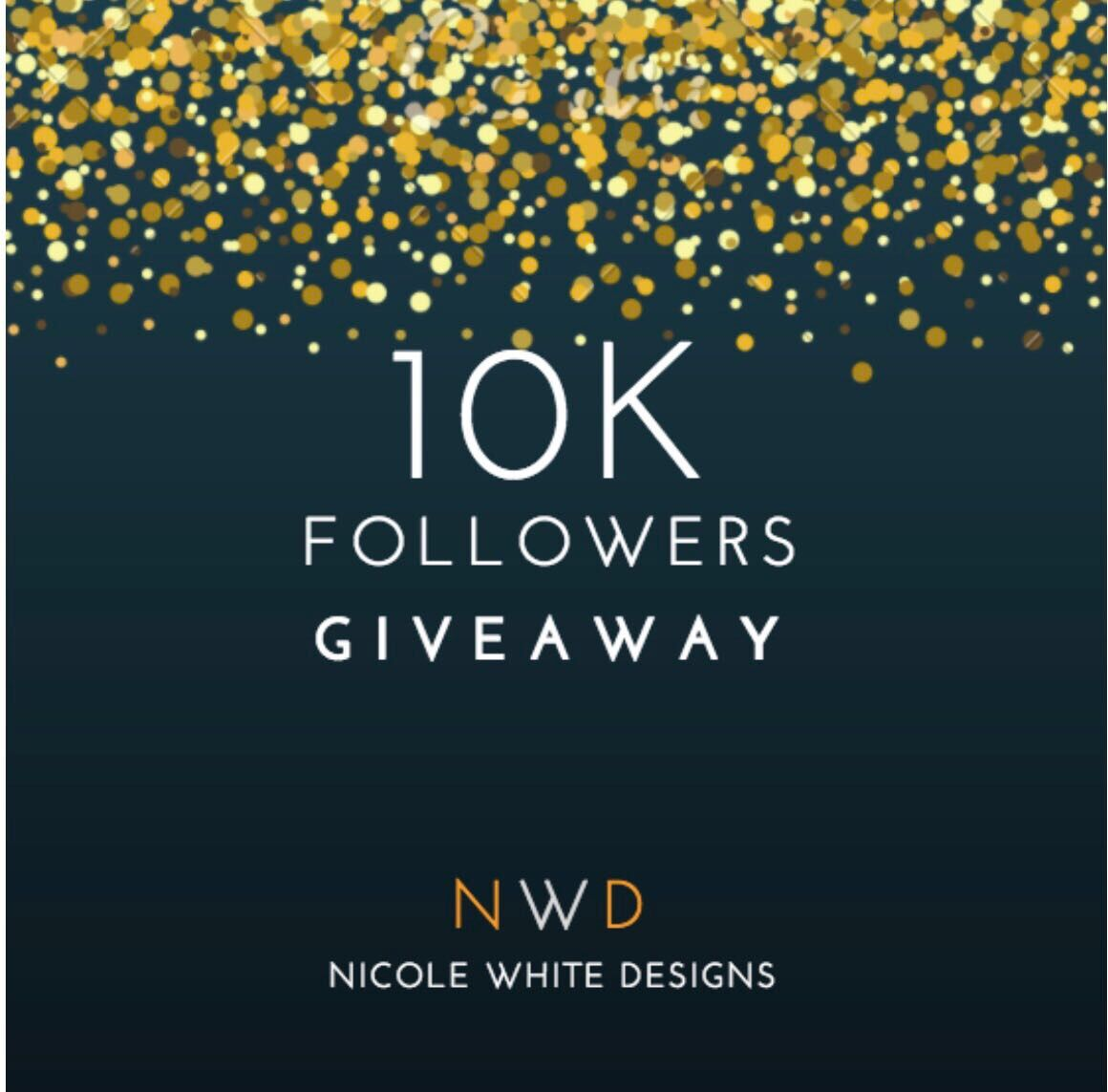 live laugh decorate our 10k followers giveaway