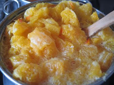 mermelada de naranja con especias