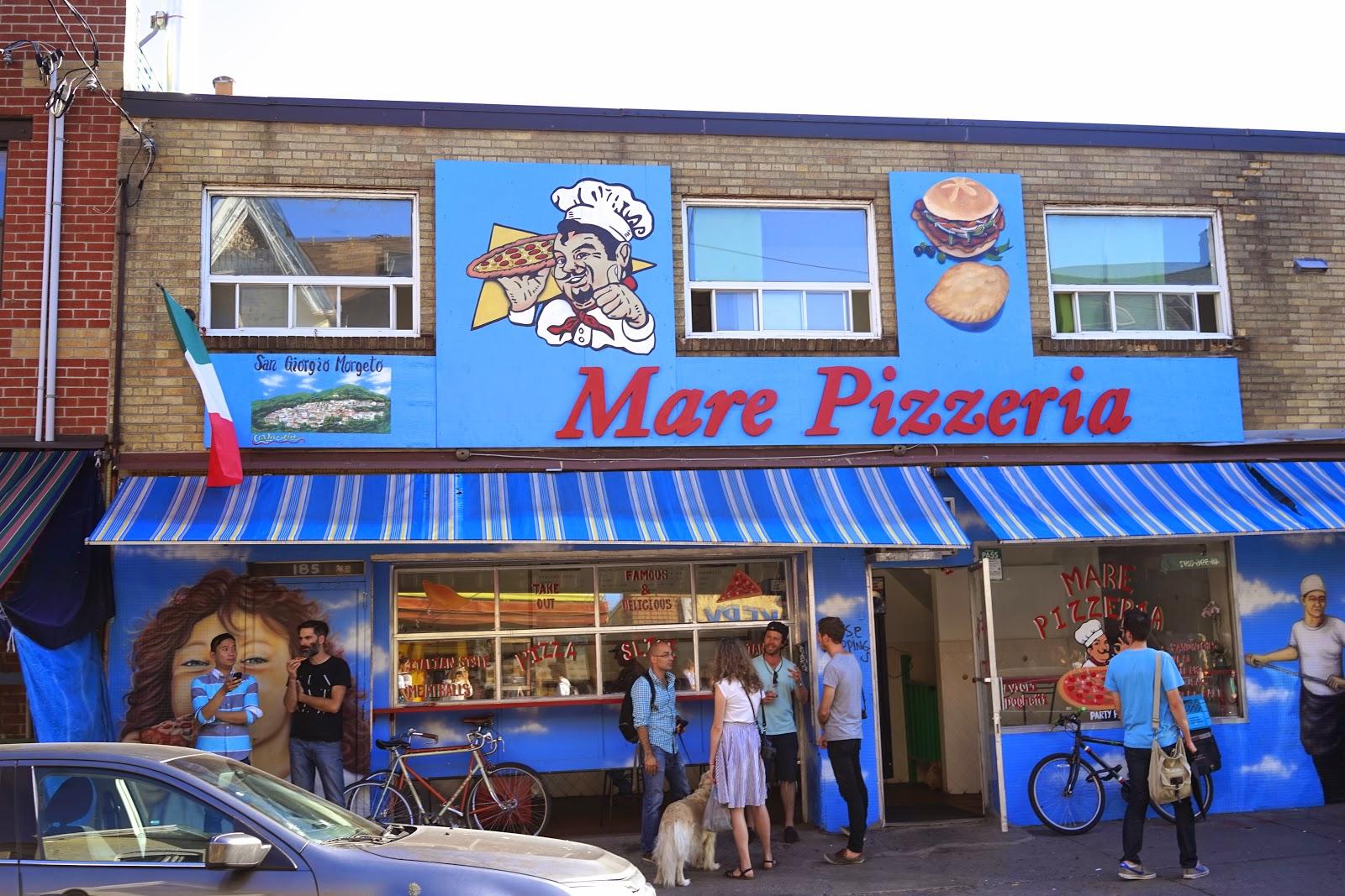 mare pizzeria toronto