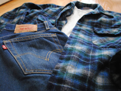 Vintage Pendleton Wool Shirt with 501