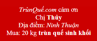 Trùn quế Ninh Thuận