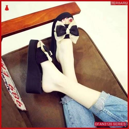 DFAN3120S43 Sepatu Pd30 Wedges Spon Wanita Wedges Murah BMGShop