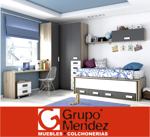 Grupo Mendez Muebles Y Colchonerias Mobiliario Juvenil
