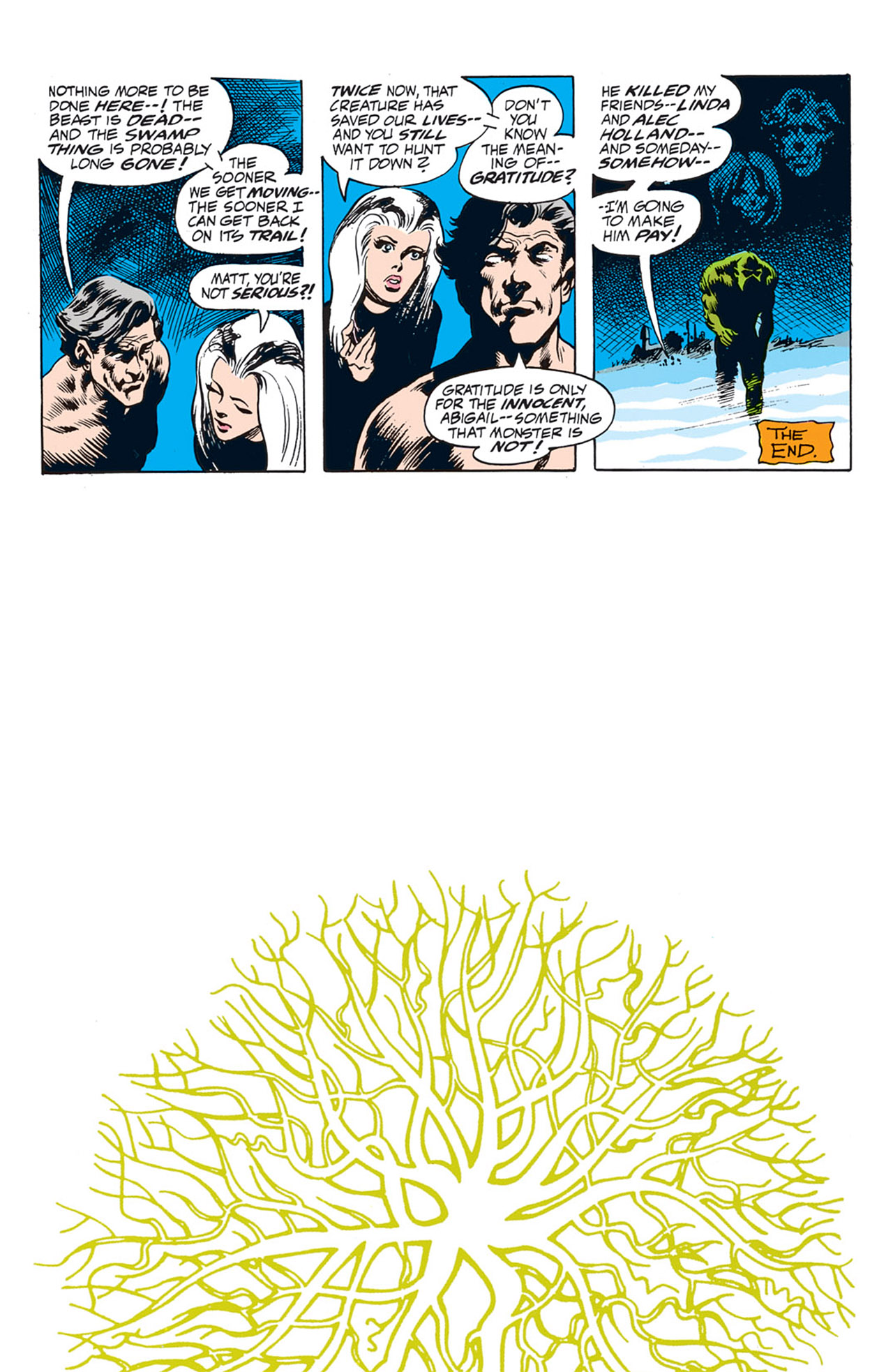 Swamp Thing (1972) Issue #4 #4 - English 24