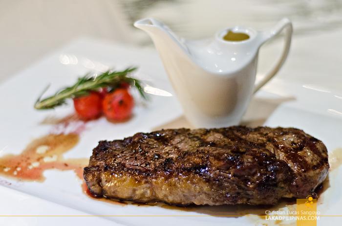 Hilton Sukhumvit Bangkok Scalini Restaurant Dinner Steak
