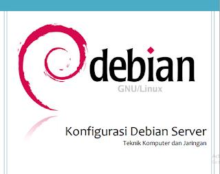 Konfigurasi debian server final