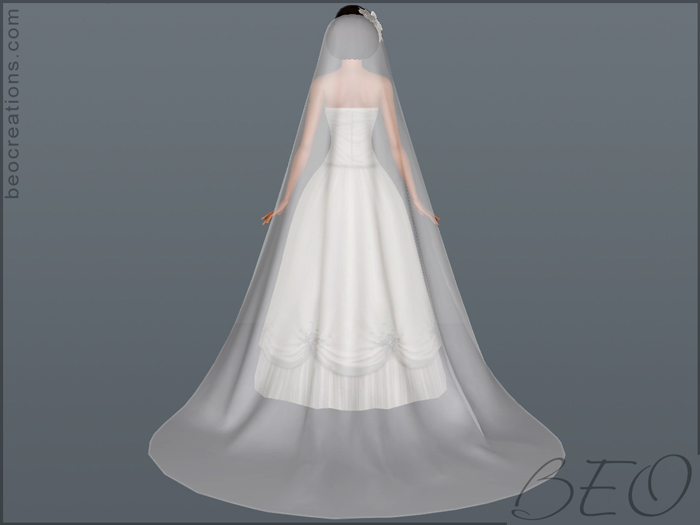 Sims 4 Wedding Veil.My Sims 3 Blog Long Veil And Flowers By Beo Creations
