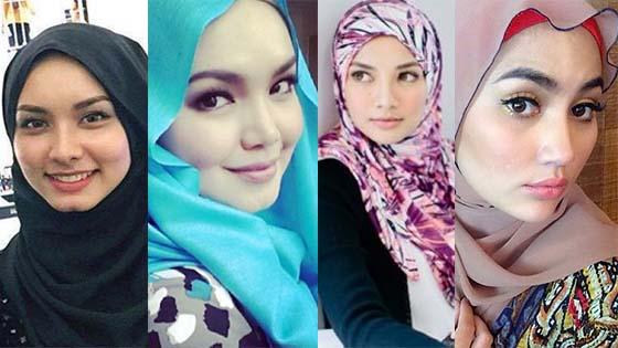 Gambar Wanita Seiras Siti Nurhaliza, Neelofa dan Fasha Sandha Viral