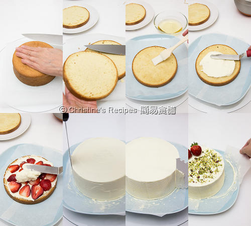 Strawberry Cream Cake Procedures02