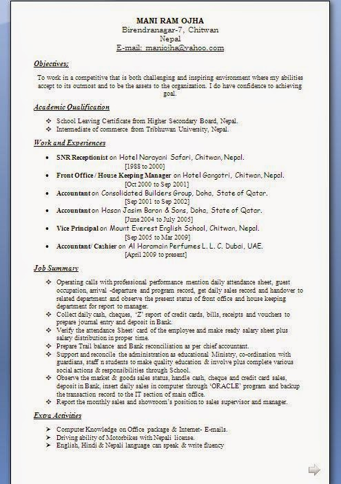 How to Write a Quality Resume, 7 Steps with Pictures.