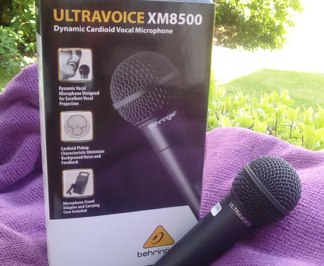 Behringer Xm8500 Xlr Cardioid Dynamic Song Microphone Corking For Alive Recording!