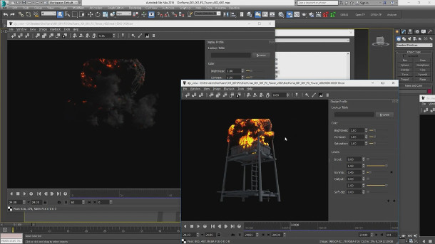FumeFX 4.1.0 for 3ds Max 2013-2018 Full Free Download