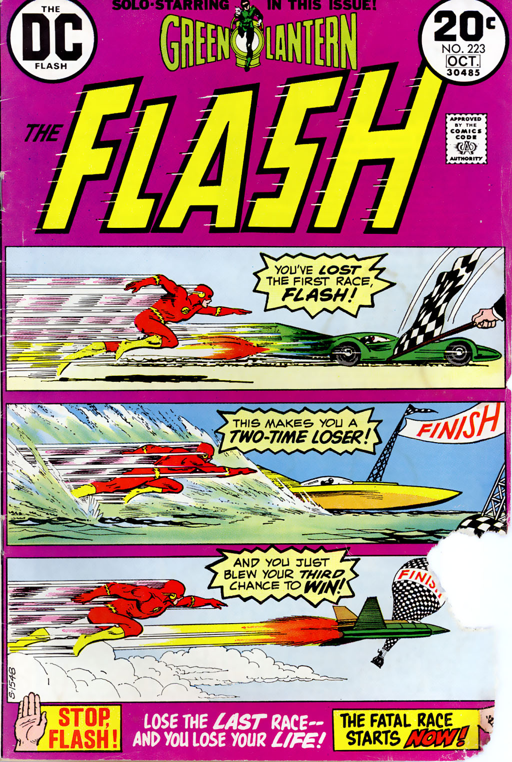 The Flash (1959) 223 Page 1
