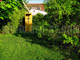 Дудутки. Телефон-автомат советских времен