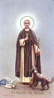 sveti Martin de Porres - redovni brat in ranocelnik