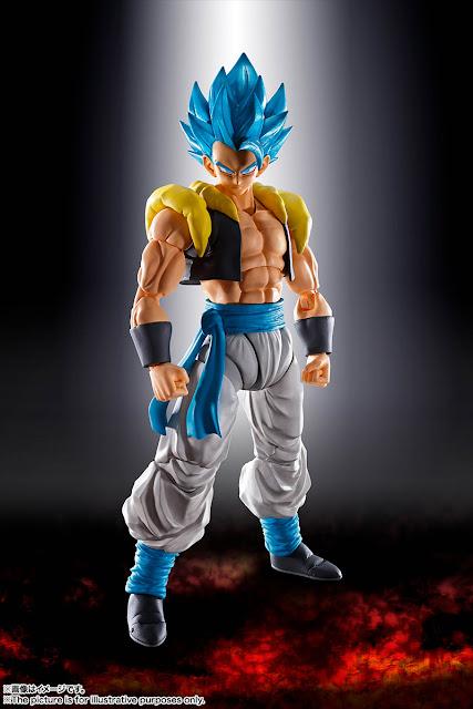 S.H.Figuarts Super Saiyan Blue Gogeta