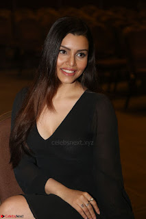 Kyra Dutta in black At Rogue Movie Audio Launch ~  014.JPG