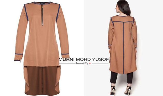 blouse muslimah, baju muslimah, blouse fishtail
