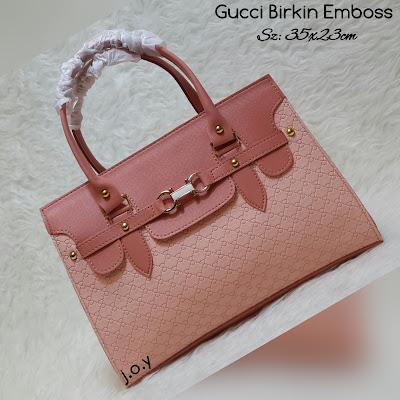 Tas Lokal Murah Merek Gucci Emboss