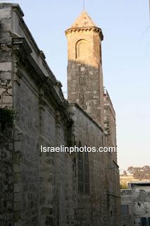 Foto's van Jeruzalem - Via Dolorosa (Lijdensweg), De Straat in Jeruzalem waar Jezus volgens de Christenen naar zijn kruiziging liep