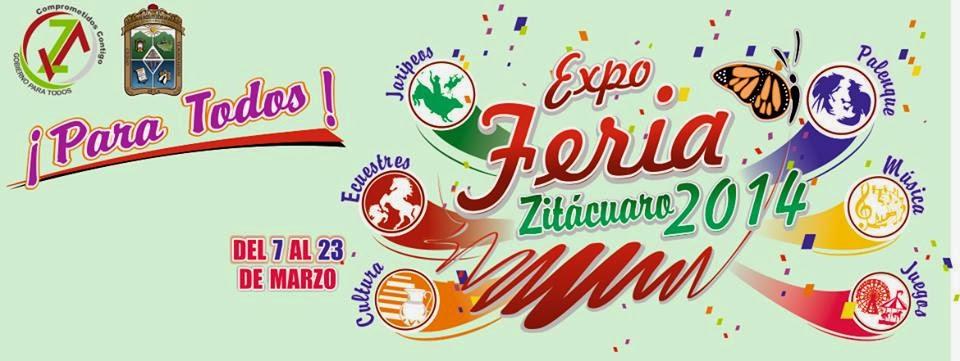 programa feria zitácuaro 2014