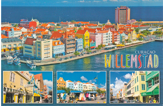 Postcard from Willemstad, Curacao