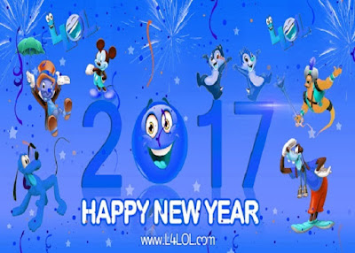 2017 New Year Quotes Ecards Messages