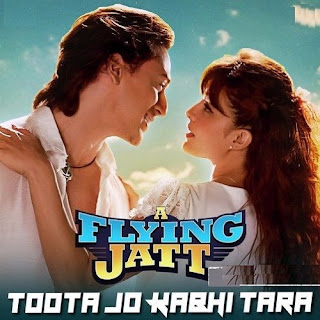 Lyric : Atif Aslam & Sumedha Karmahe - Toota Jo Kabhi Tara ( OST. The Flying Jat )