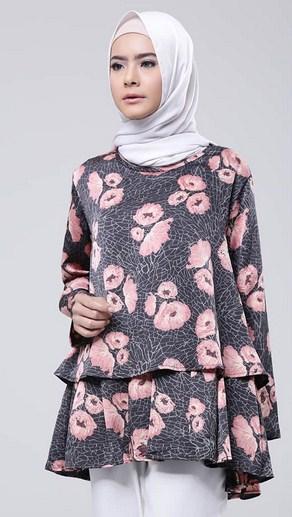 Gambar Baju Trend 2017 : gambar, trend, Contoh, Model, Muslim, Simple, Trend