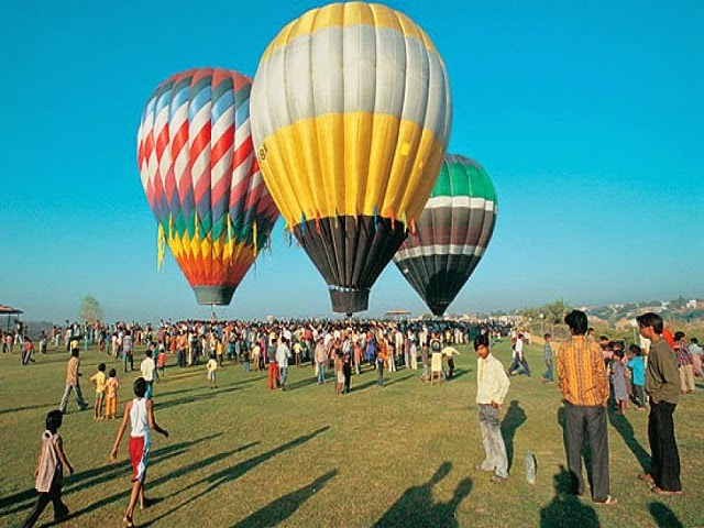 Hot Air Ballooning, India