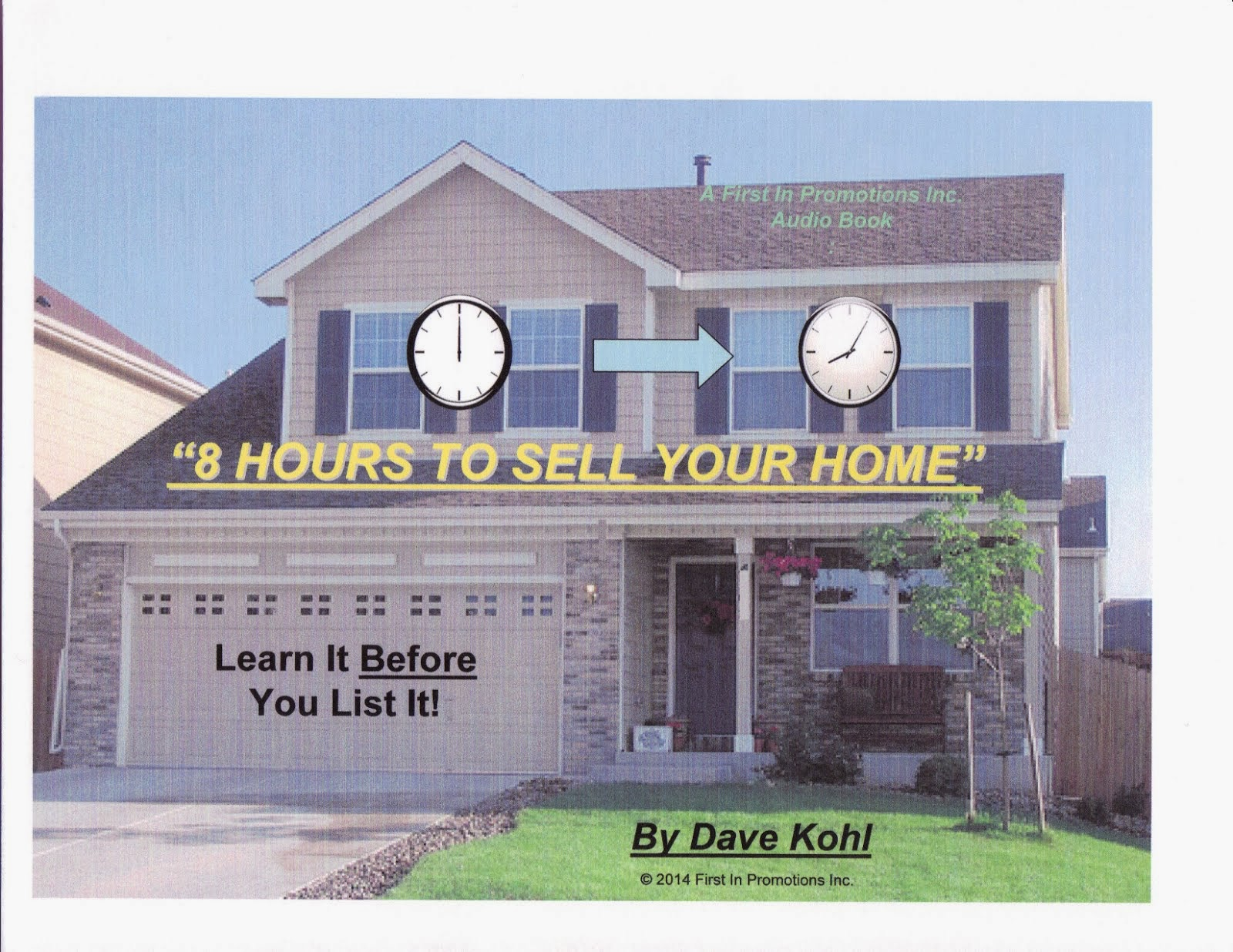 """8 Hours To Sell Your Home"" - New audio book!"