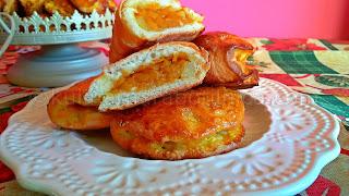 Ябълкови пирожки с тиква