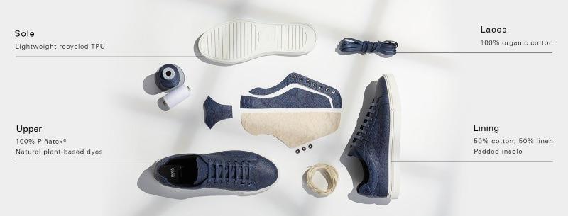 Sapatos vegans Hugo Boss