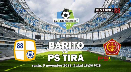 Prediksi Barito Putera vs PS Tira 5 November 2018