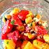 Peach, Tomato and Mint Salad #SundaySupper