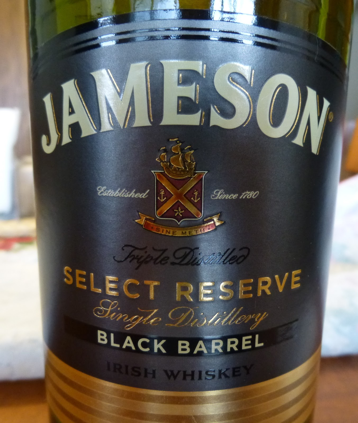 diving for pearls not single malt report jameson select. Black Bedroom Furniture Sets. Home Design Ideas