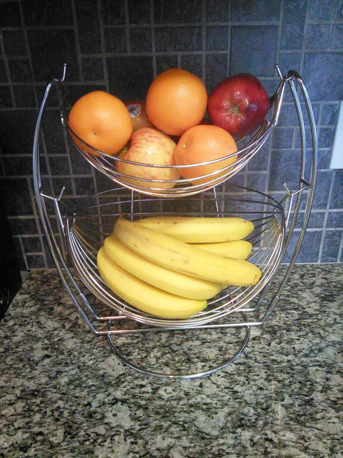 Fruit Bowl For Counter Francois Et Mimi Hammock Two Tier Fruit Bowl Has Uses