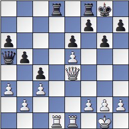 Partida de ajedrez Pérez Aguirre - Ros después de 21… Tcd8