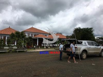 Tham gia khảo sát chim yến tại đất nước bạn Lào